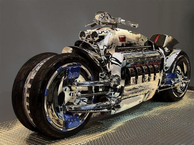 Foto Sepeda Motor Konsep Dodge Tomahawk 10