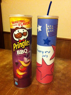 Patriotic Pringles