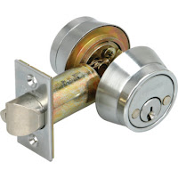 Locksmith Spokane Schlage double cylinder deadbolt