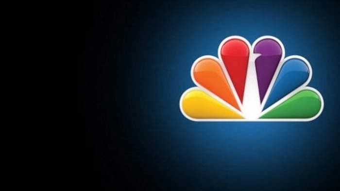 The NBC logo has a hidden peacock above the above text which is looking to the right, this represents the companies motto to look forward and not back, and also that they are proud of the programs they broadcast.