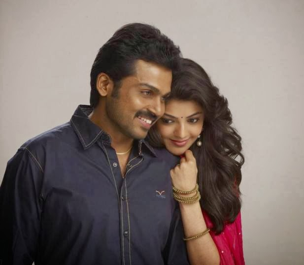 Karthi,s All in All Azhagu Raja Latest Stills