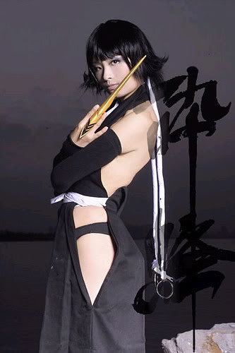the cosplay bleach hot