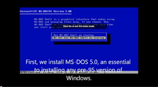 Video shows all 20 years of Windows versions installed in sequence, in 77 minutes.