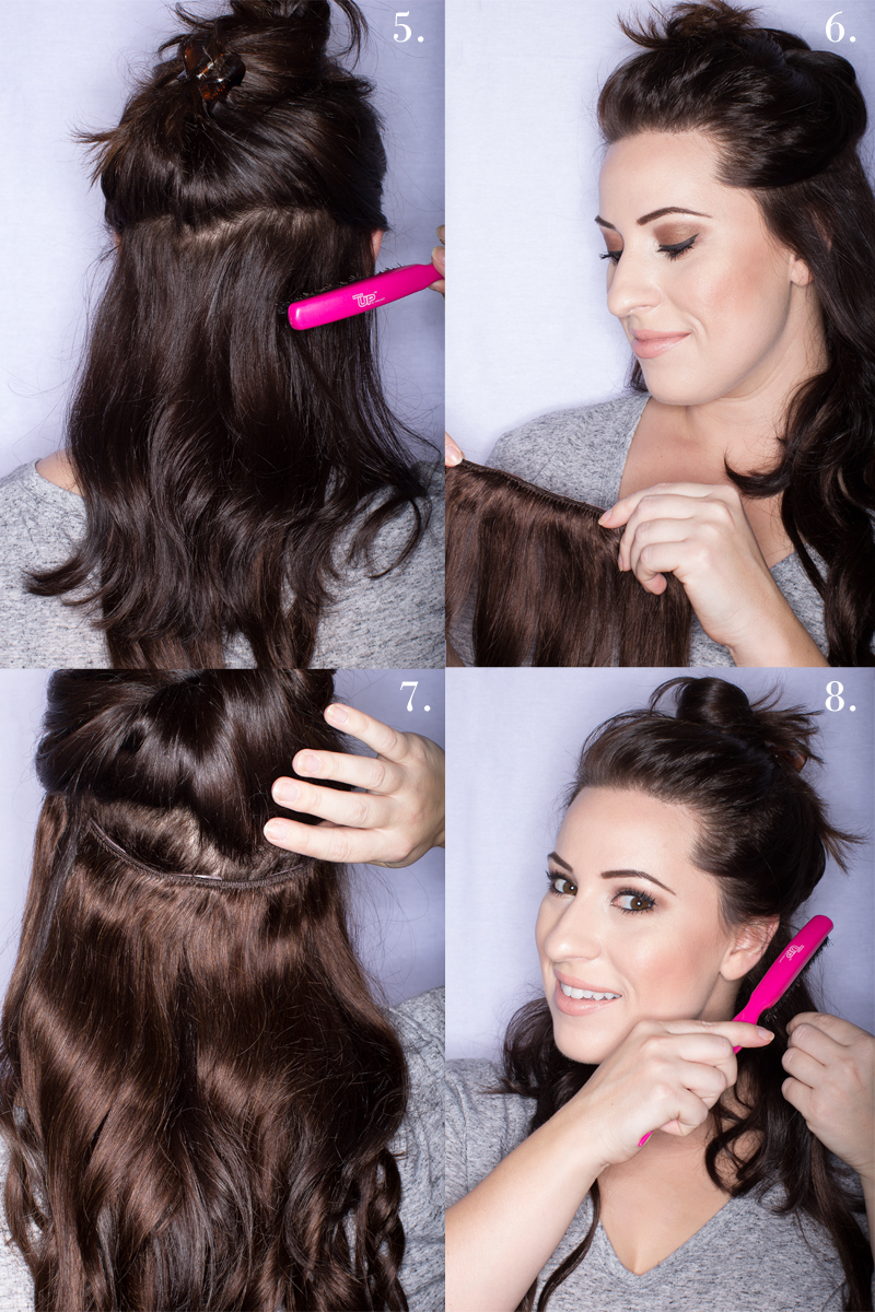 hair extension giveaway, how to use clip in hair extensions with short hair, lush hair extensions