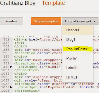 Optimasi SEO pada Widget Popular Posts di Blog