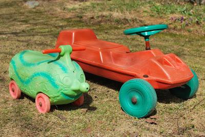 Muonamiehen mökki - 70-luvun lelut