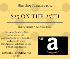 $25 on the 25th Gift Card Giveaway!