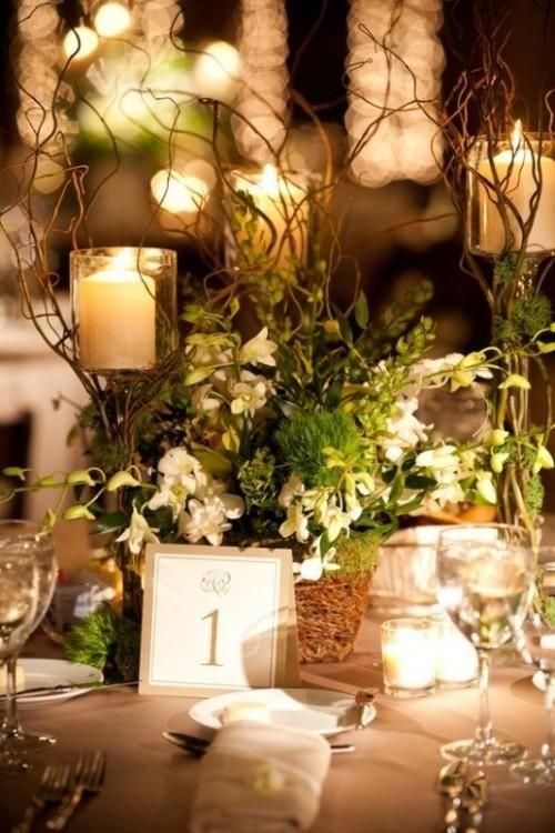 iluminación velas boda
