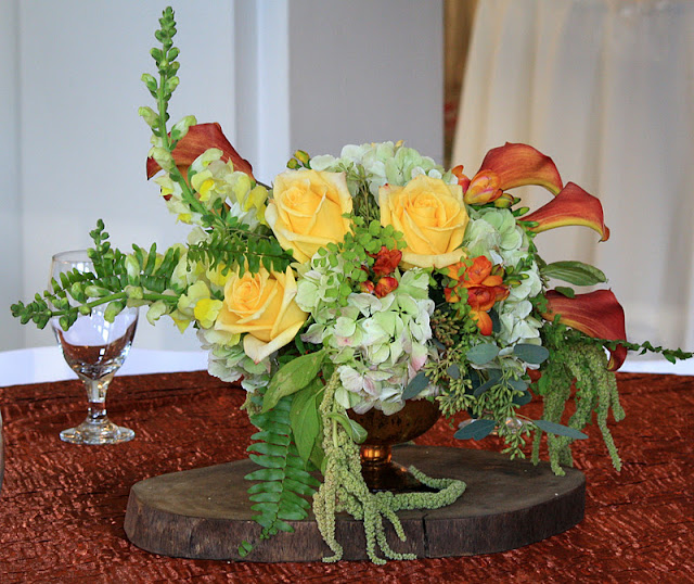 Wedding flowers at Museum of Dance Saratoga Springs NY