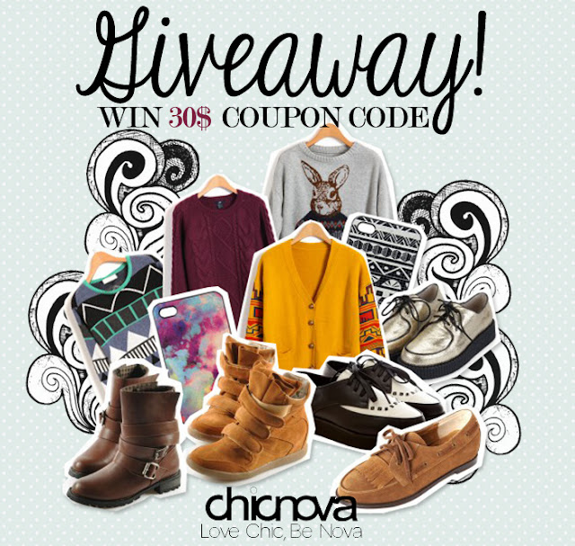 SadeeStyle Beauty & Fashion Blog: Chicnova Giveaway!!!