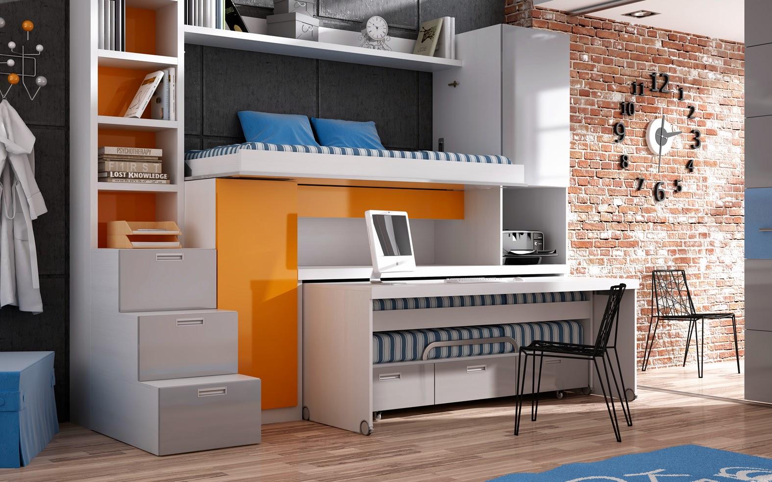 Muebles juveniles dormitorios infantiles y habitaciones juveniles en madrid habitaciones - Muebles infantiles y juveniles ...
