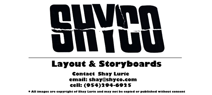 SHYCO Layout and Storyboards