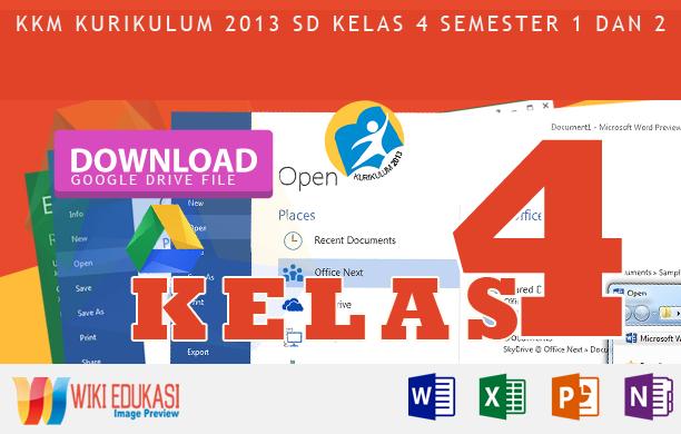 Kkm Kurikulum 2013 Sd Kelas 4 Revisi Rekomendasi Terbaru Wiki Edukasi