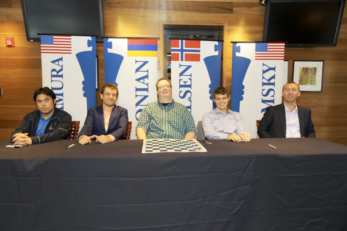 Sinquefield Cup Autograph Session