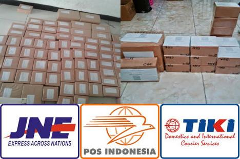 Pengiriman Paket Obat Herbal Via TIKI / JNE / POS