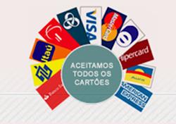 ACEITAMOS TODOS OS CARTÕES