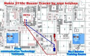 Nokia 3110c Earpiece Speaker Ways Problem jumper ways