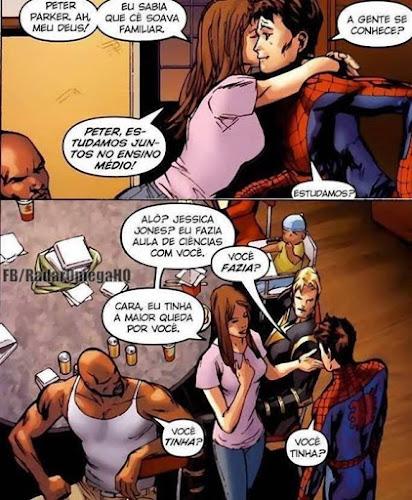 HQ - O dia em que Luke Cage sentiu ciúme de Peter Parker
