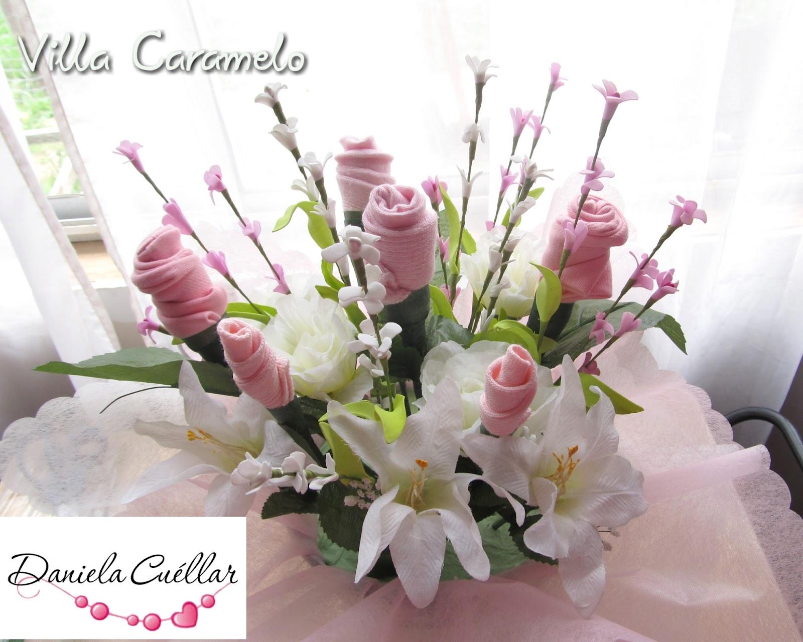 ropa de bebe flores