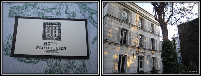 Hotel Particulier Montmartre Paris Style directoire Pavillon D