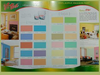 Warna Hangat Cat Tembok Untuk Interior Rumah Berbagi