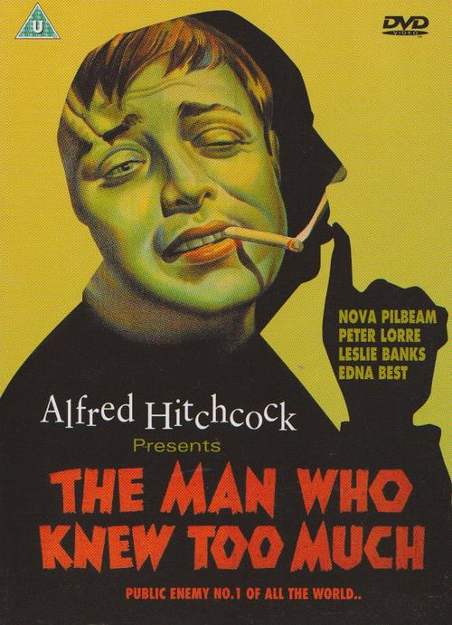 The Man Who Knew Too Much Film Poster