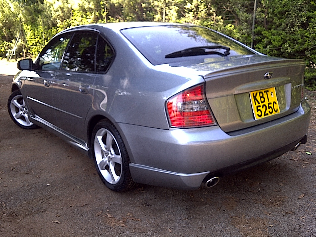 nairobimail subaru legacy b4 spec b 2005 grey. Black Bedroom Furniture Sets. Home Design Ideas