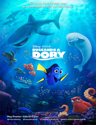 Buscando a Dory (2016) (Finding Dory)
