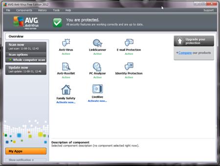 Antivirus Terbaik AVG Edisi 2012