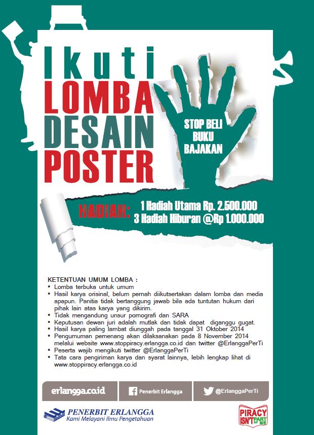 Lomba Poster Erlangga
