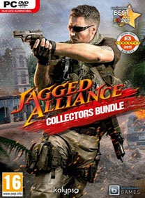 Jagged Alliance Collectors Bundle PC Game Cover Jagged Alliance: Collectors Bundle PROPHET
