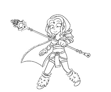 #6 Dota 2 Coloring Page