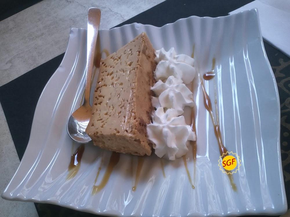 Leche asada at Restaurante Folelé (Tenerife)
