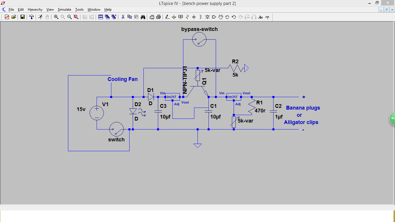 Ic Projects 2016 Variable Power Supply Using 7805 How To Make A Bench 2 Lm317 Part Project 38