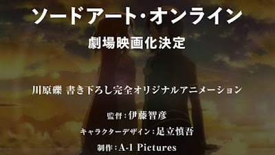 Sword Art Online The Movie Telah Dikonfirmasi
