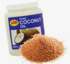 coconut, brown sugar