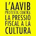 L'AAVIB protesta contra la pressió fiscal a la cultura.