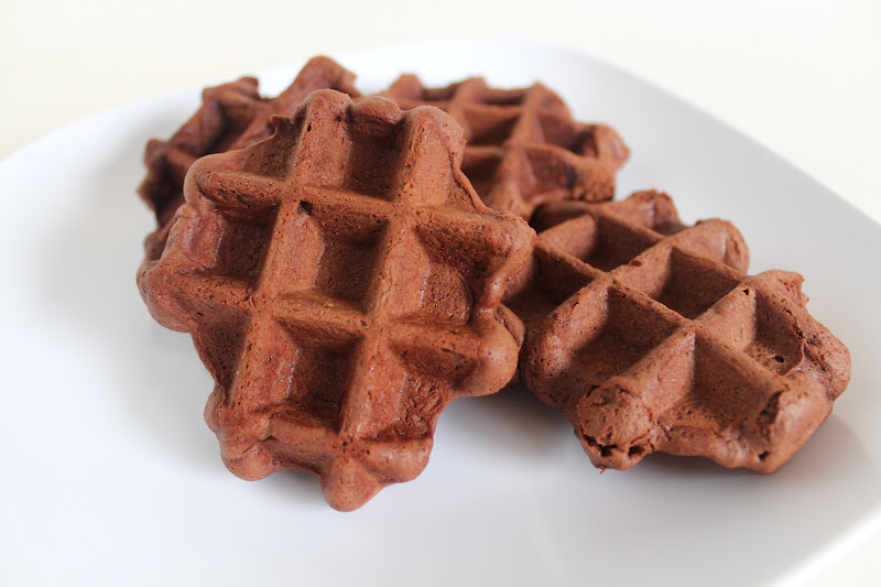 CHOCOLATE WAFFLE COOKIES : (recipe from my Mother-in-law, Nola)