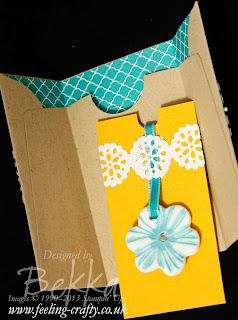 Simply Pressed Clay Ornament by UK based Stampin' Up! Demonstrator Bekka Prideaux for the Utah 2013 Incentive Trip