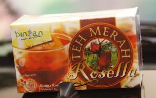 jual teh bunga rosella di semarang