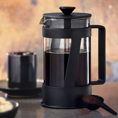 Lylas Reader: Black Crema Coffee Press by Bodum 8 cup Starbucks Store