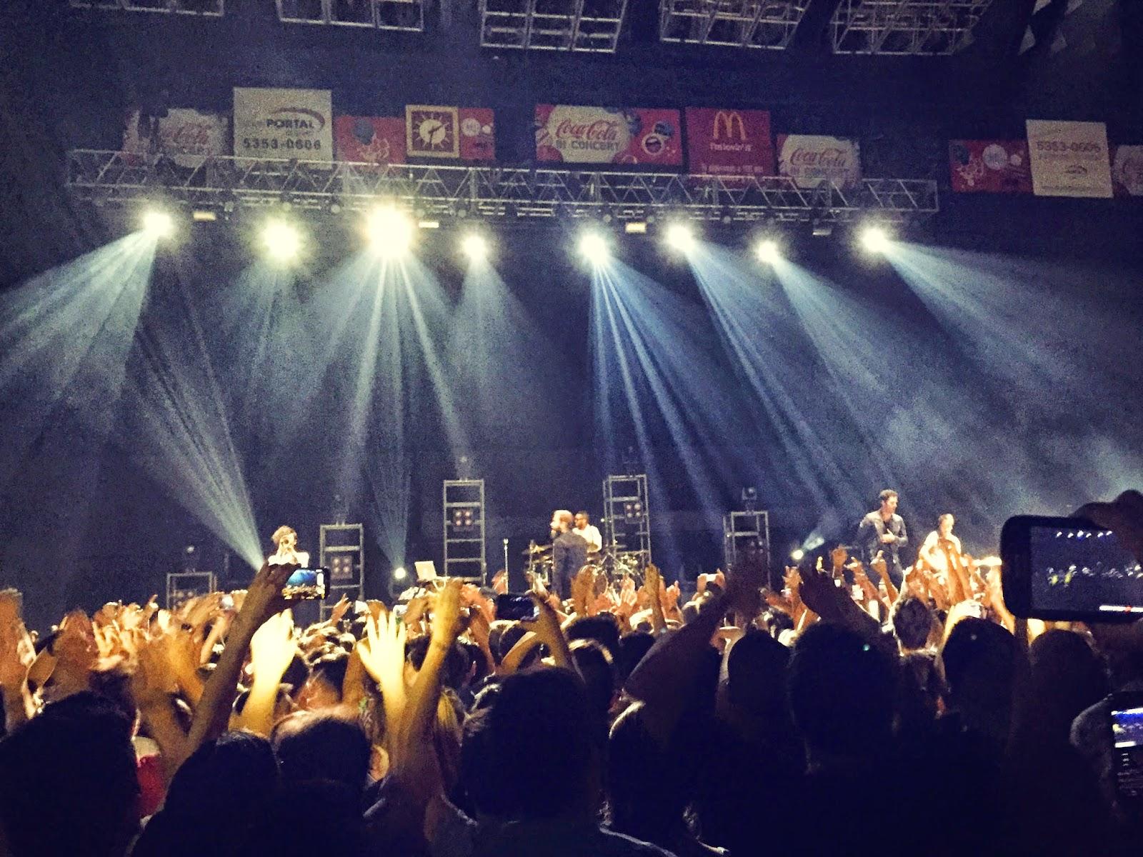 Concierto Capital Cities en el Luna Park en Diciembre 2014