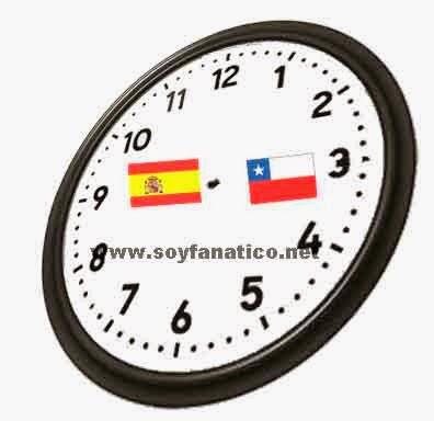 Partido España vs Chile Mundial Brasil 2014