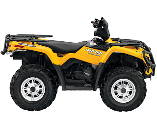 2013 Can-Am Outlander XT 400 ATV pictures 2