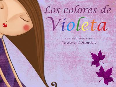 soñando cuentos: LOS COLORES DE VIOLETA.