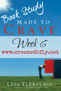 www.created2fly.net: Made to Crave Book Study - Week 6