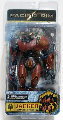 NECA Pacific Rim Crimson Typhoon Jager Figure
