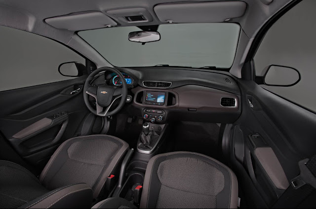 Novo Prisma 2013 - interior