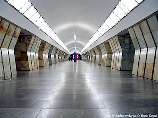 terowongan medvedkovo novoyasenevskaya line 6 moskow 10 Terowongan Terpanjang di Dunia