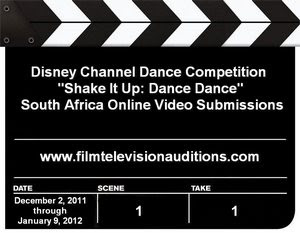 Disney Channel Auditions Shake It Up Dance Dance